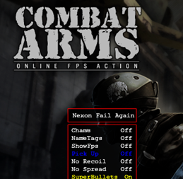 Combat Arms Hile Nexon Again Fail New Versiyon