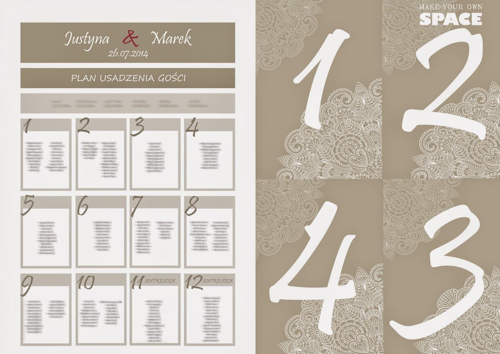 ślubne inspiracje, grafika weselna, ślub, wesele, goście weselni, inspiracje, plan usadzenia gości..