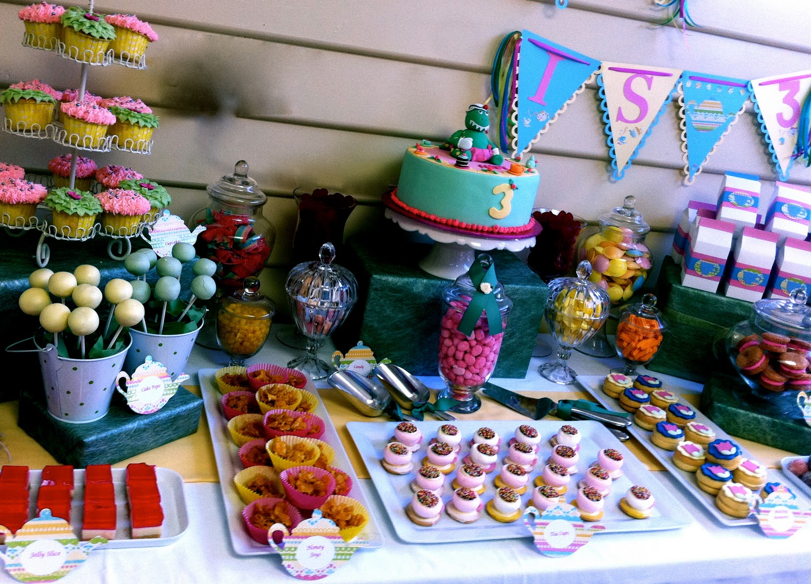 The Inspired Occasion A Dorothy the Dinosaur Tea Party Part 2