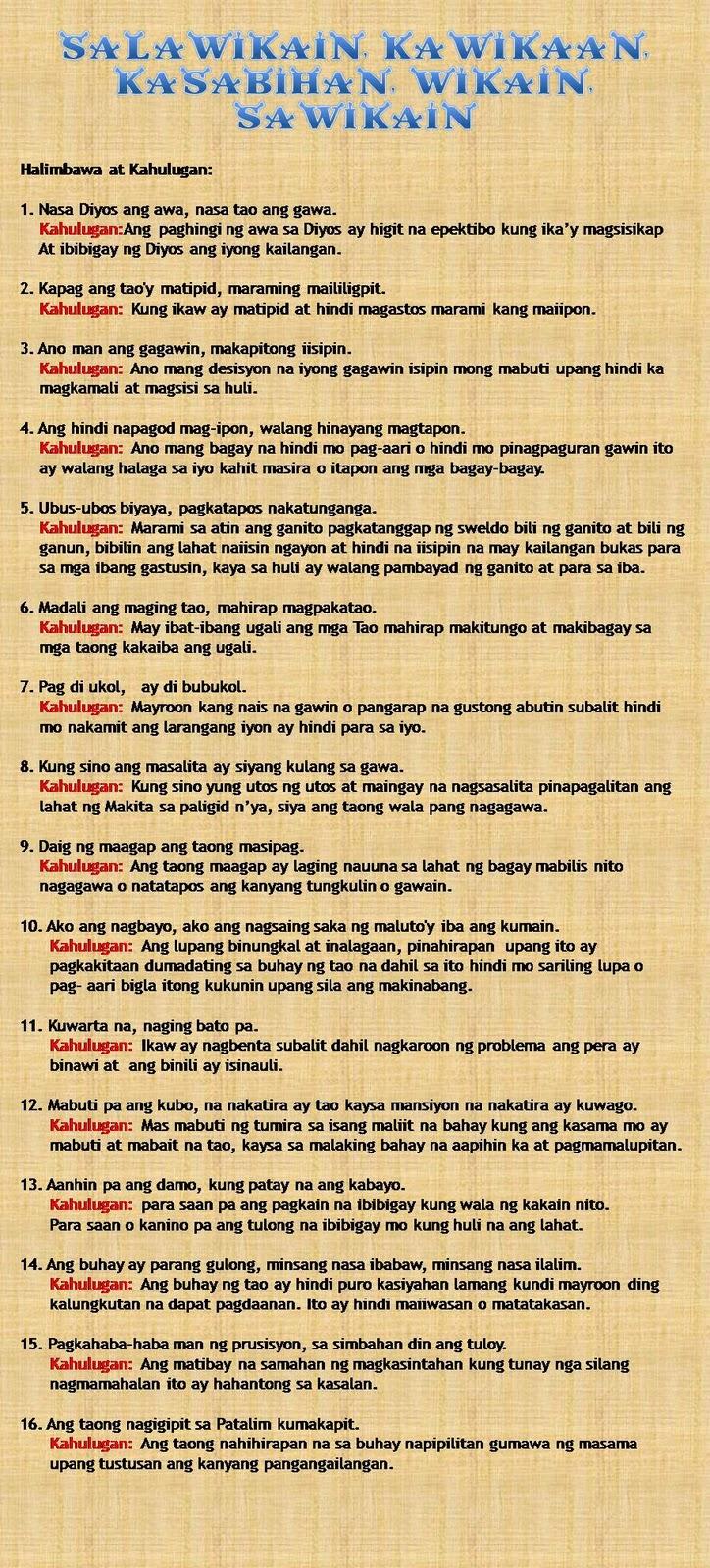 mga kasabihan Buhay mo hawak mo ,ang lagi kong sinasaisip mga bagay na minsan na aking pinagdaanan at ngayon ay aking binigyan na kahalagahan bawat taong nabubuhay ay ma.