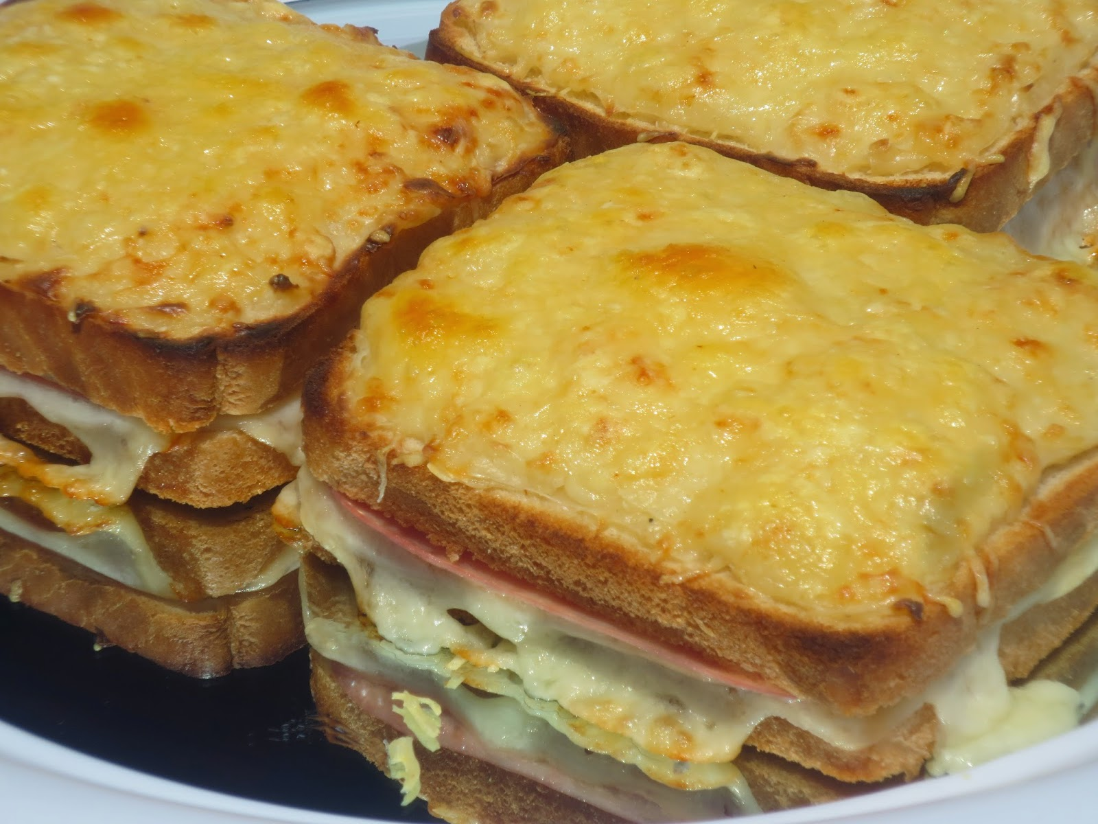 Sandwich Croque-monsieur Ana Sevilla con Thermomix