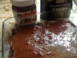 Date Nut Brownies