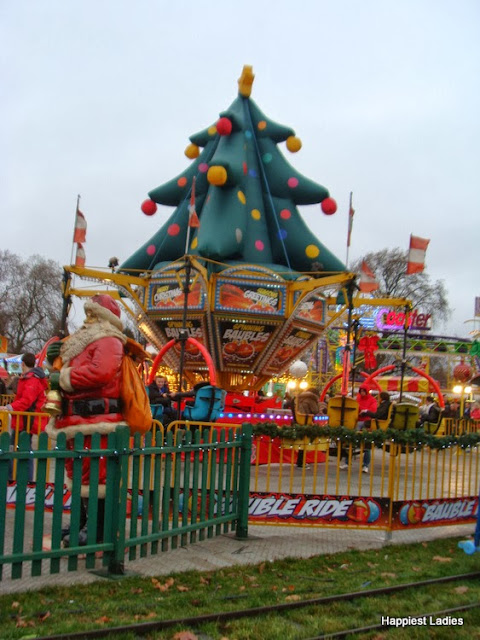 Rides at Winter Wonderland