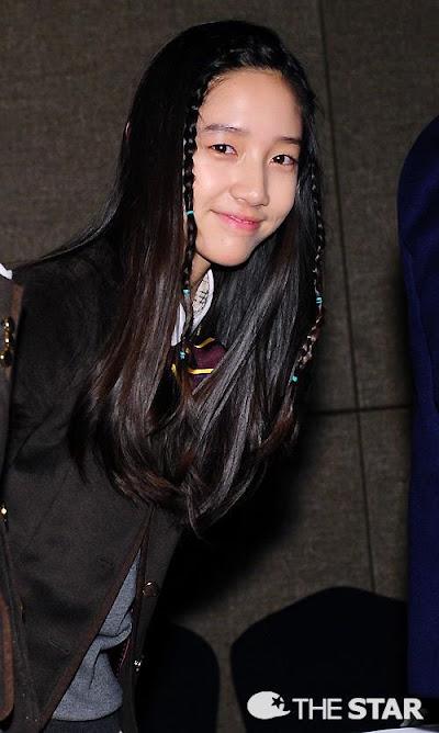 "Video dan Foto Terbaru T-ara Dani di PressCon Drama ""School 2013"""