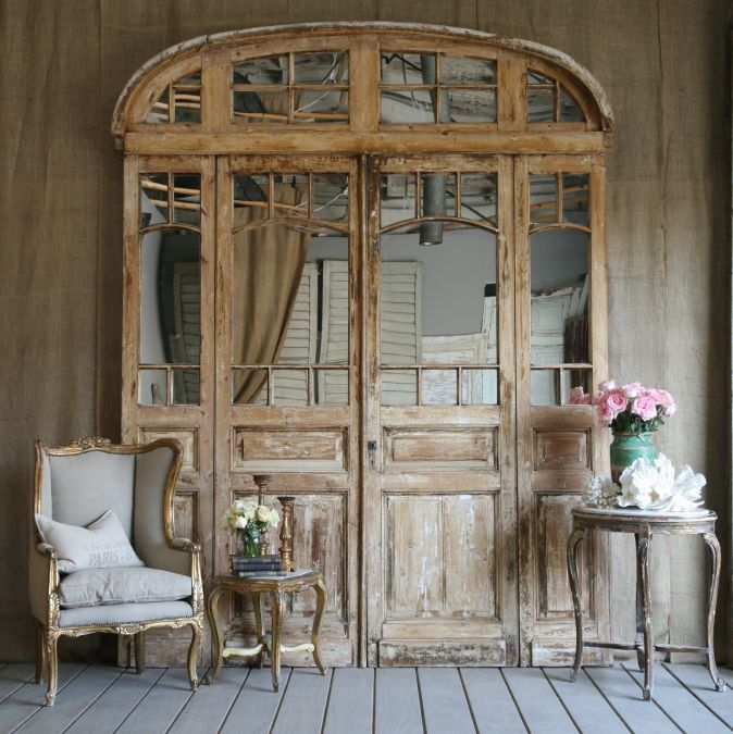 Wooden doors old wooden doors for sale for Double french doors for sale