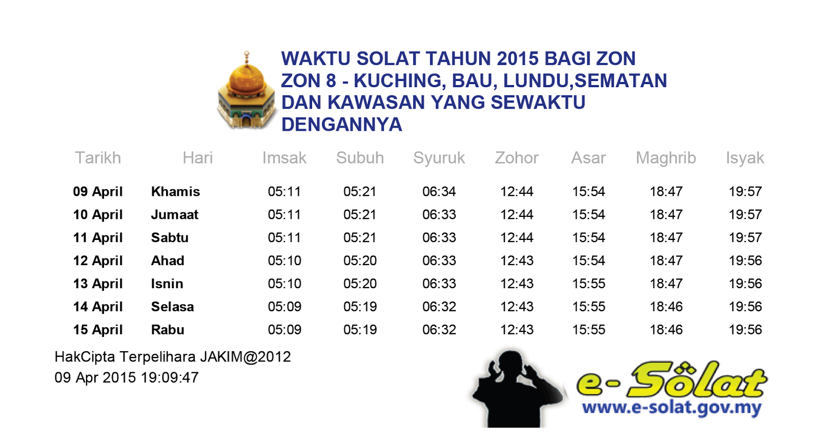 Waktu Solat Selangor 2019 Pdf Surat Mic