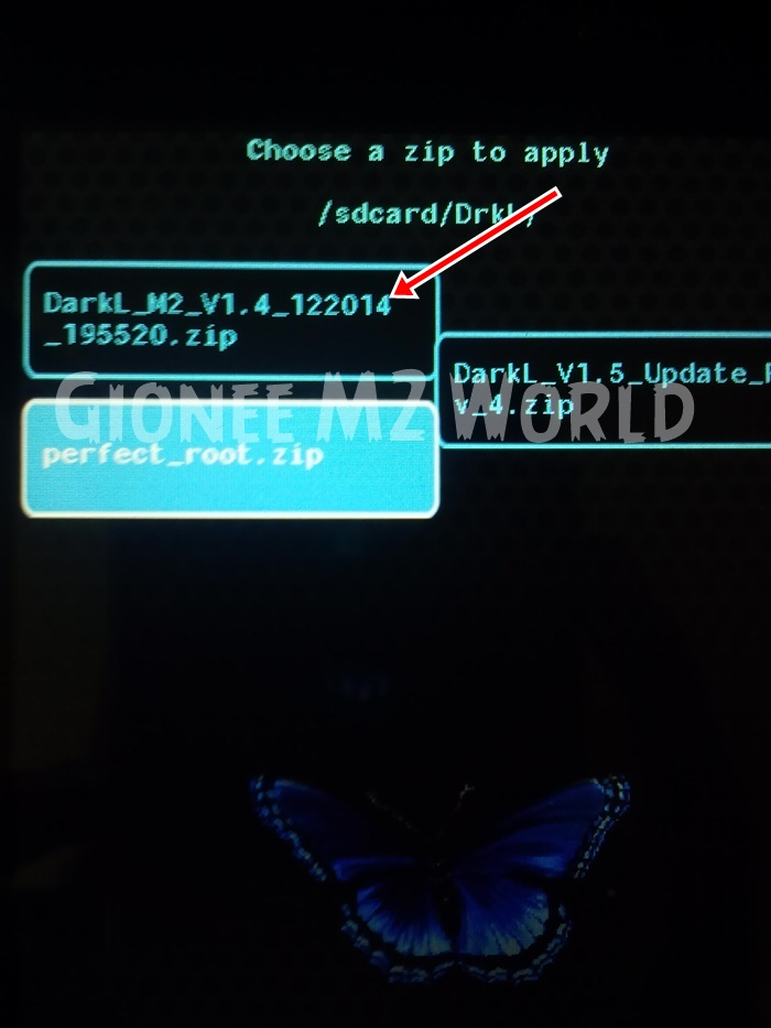 How to Flash Custom Roms on Gionee M2 using CTR Recovery | With Screenshots