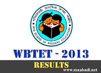 WBTET Result 2013