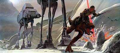 Storyboards originais de Star Wars