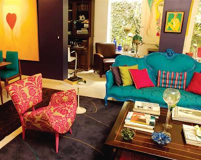 Decoraci n de salas vintage ideas para decorar dise ar y mejorar tu casa - Muebles anos 60 ...