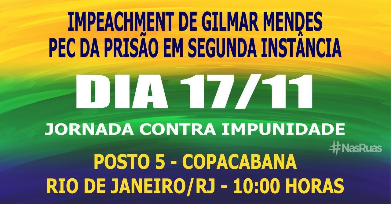 17 de novembro, 10h: Rio de Janeiro