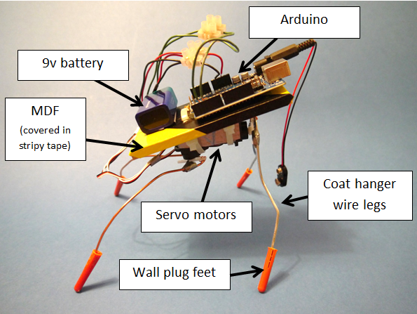 Arduino based robots etc robot insect