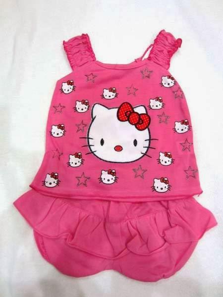 Kode : Stelan HK Star PINK TUA harga 22.500 Ukuran baju LD : 24cm P ...