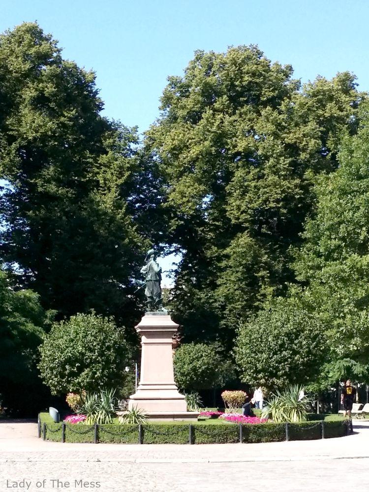 Turku, tuomiokirkkopuisto