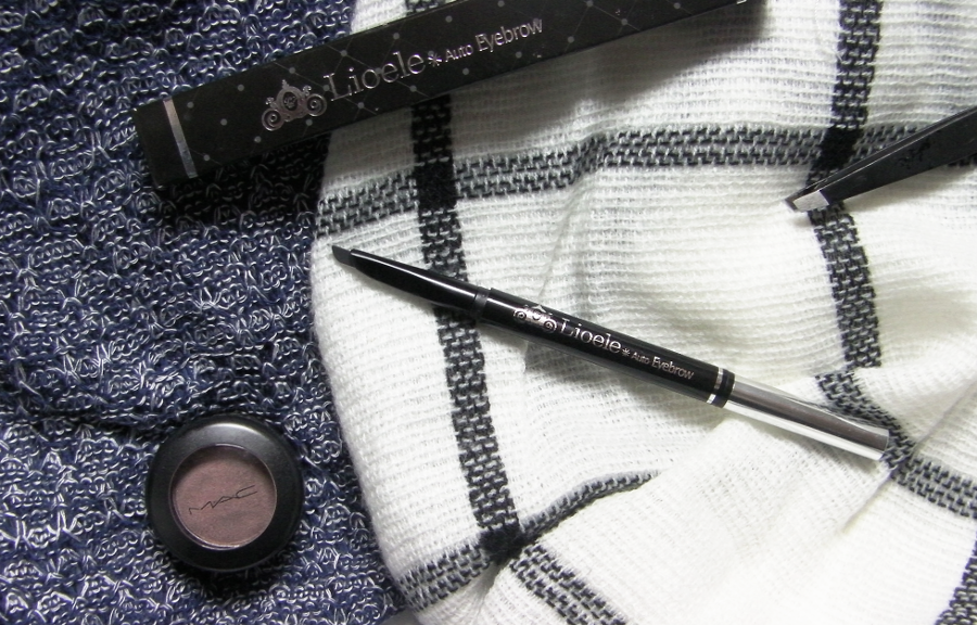 lioele auto eyebrow pencil 03 grey black review