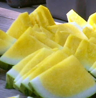 yellow watermelon picture