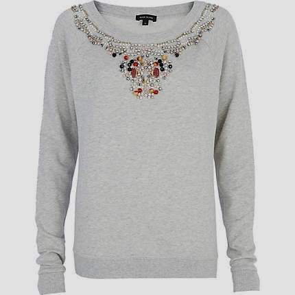 jewelled sweater
