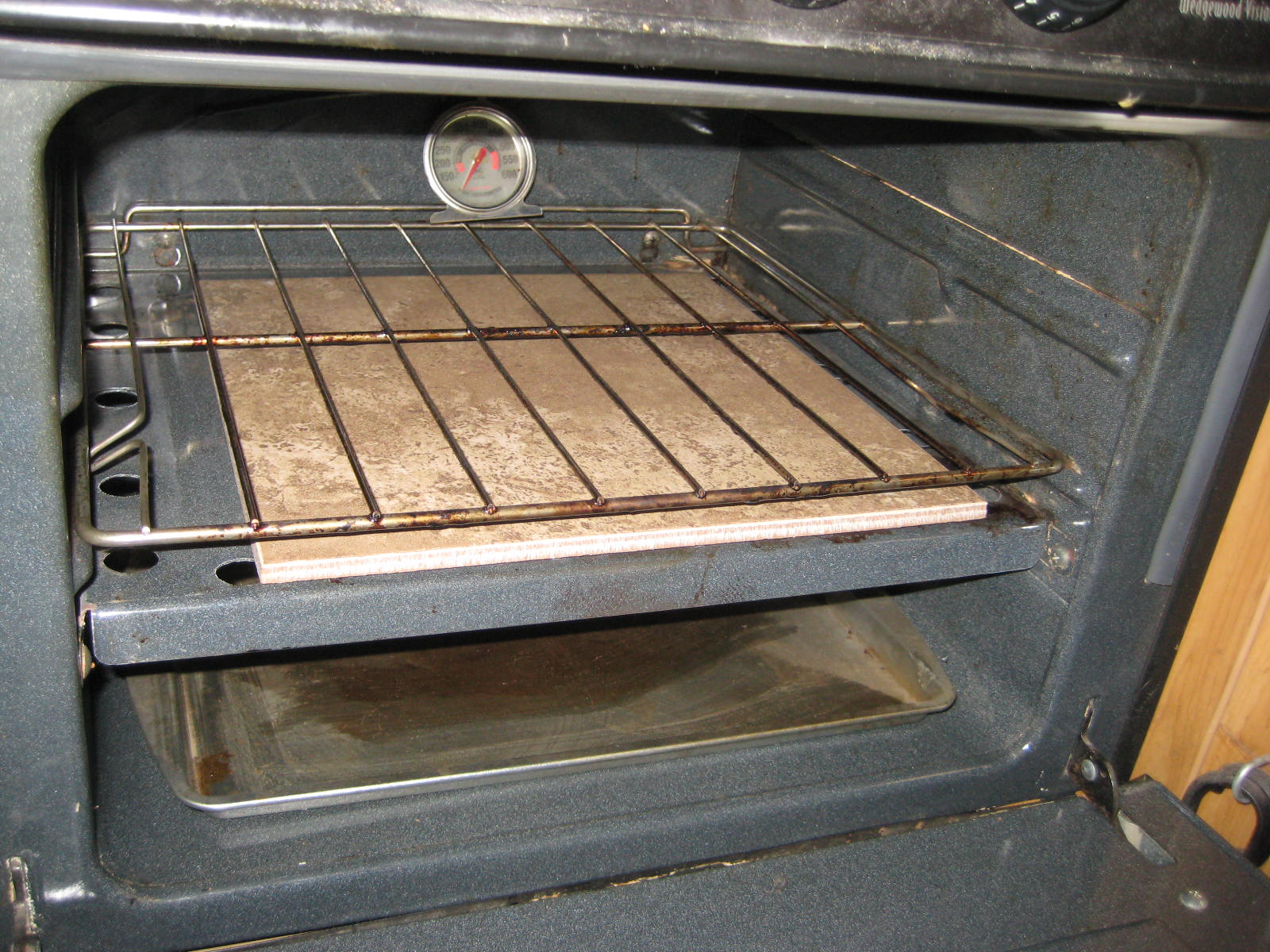 how to clean smoke residue from oven
