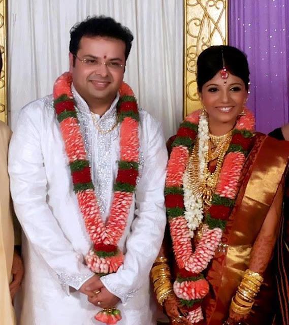 Malayalam actress Kavya Madhavan's former husband Nishal weds Remya Nath