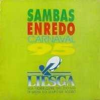 foto da capa do cd sambas de enredo 1995 grupo de acesso