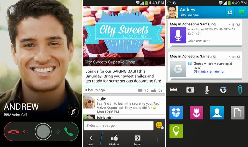 7 Fitur Baru Di Versi Terbaru BBM 2.0 Android dan iOS