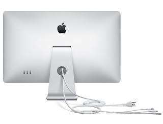 Apple LED Cinema Display 27 inch IPS monitor Back