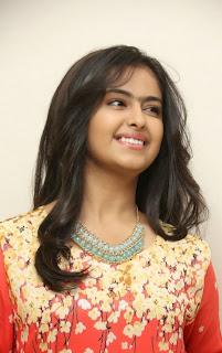 Actress Avika Gor Latest Picture Gallery at Lakshmi Raave Maa Intiki Trailor Launch 8
