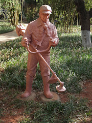 Weed Whacker statue