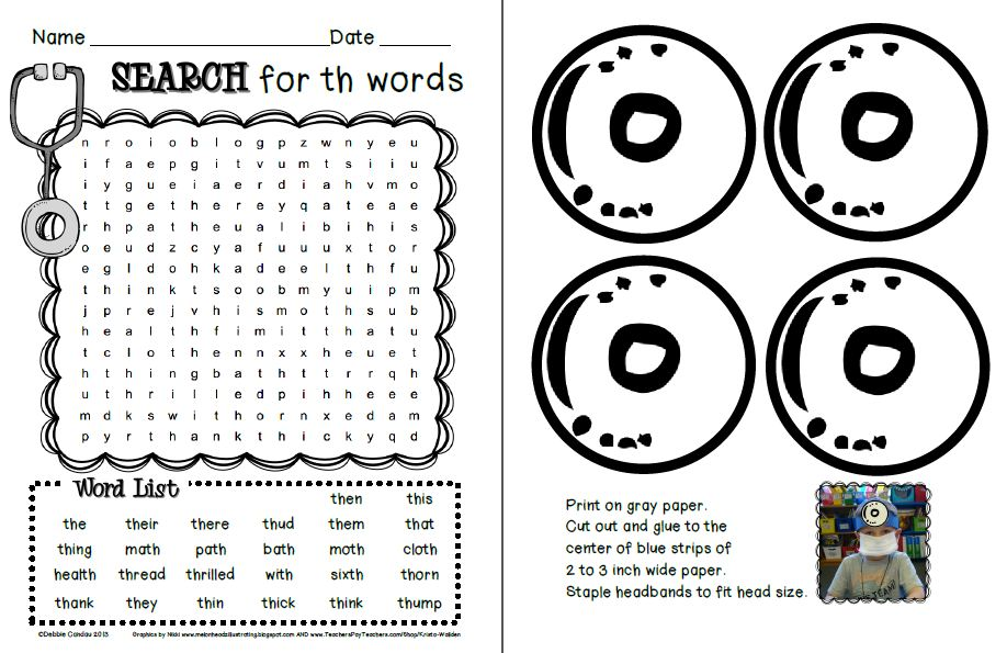 Black History Month Word Search My new word work packs.