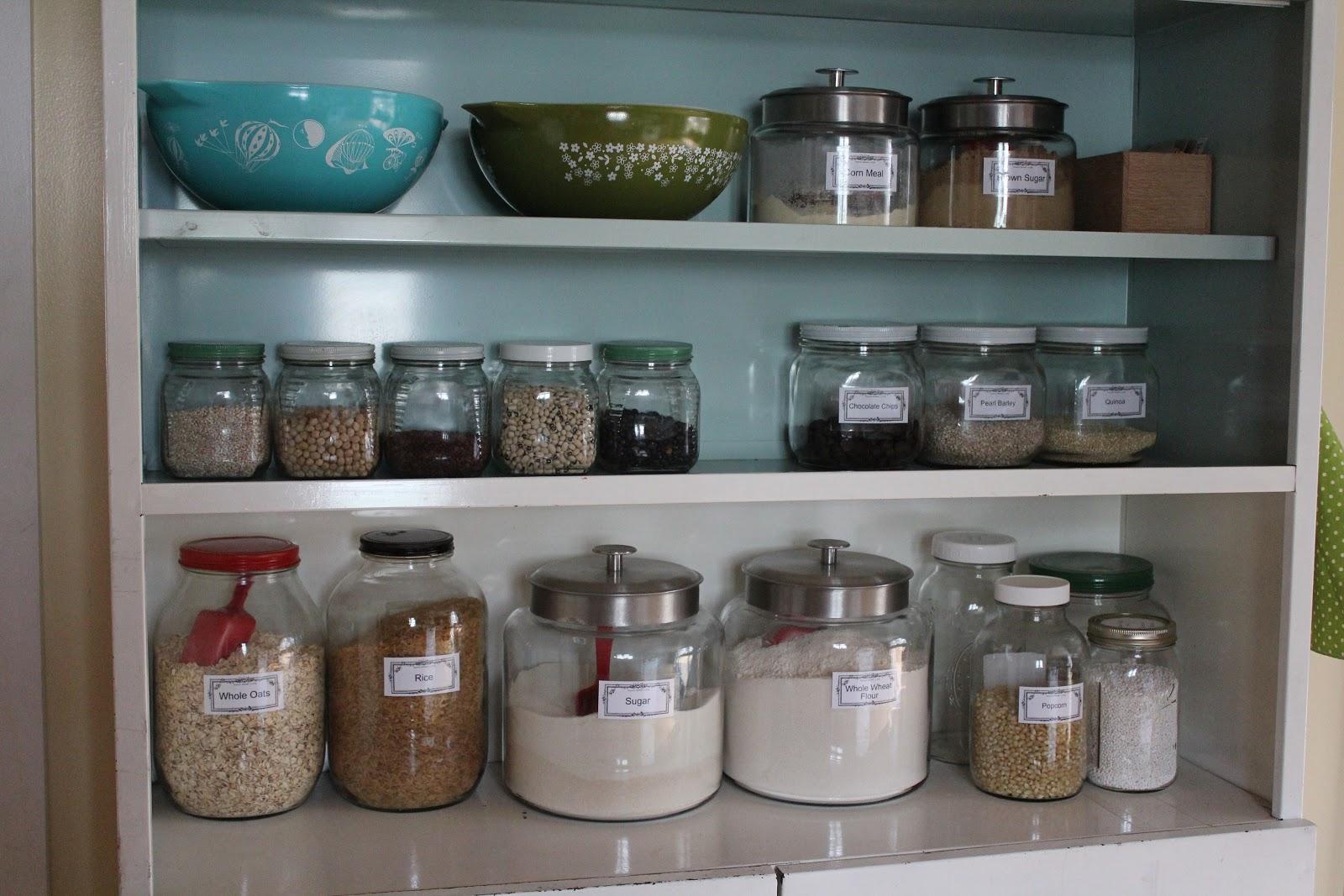 Strangers Pilgrims On Earth Tidy Baking Pantry Inspiration Pantry Series