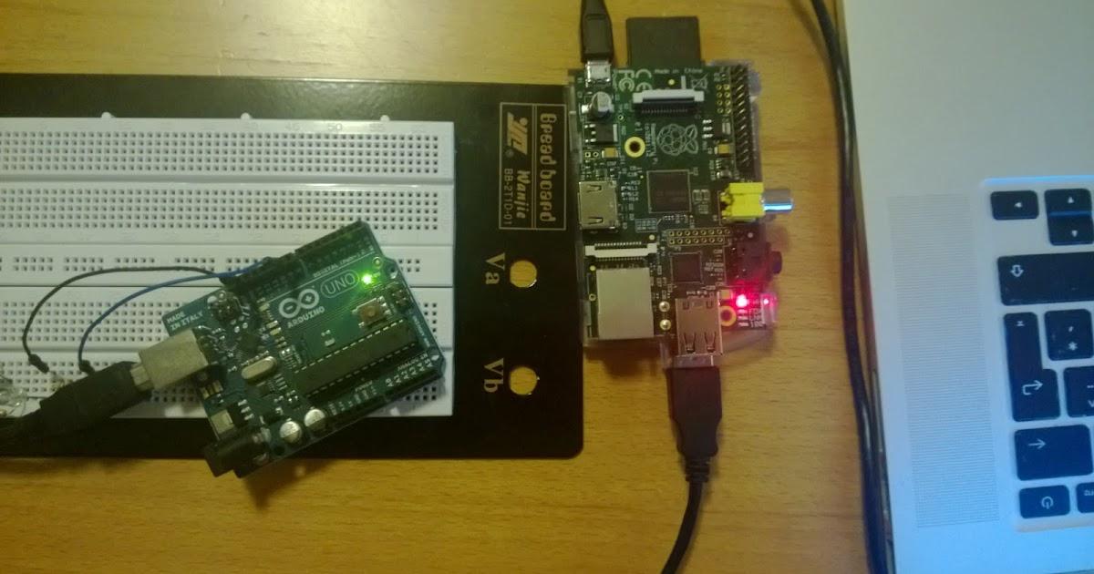Arduino stuff exposing to raspberry pi with