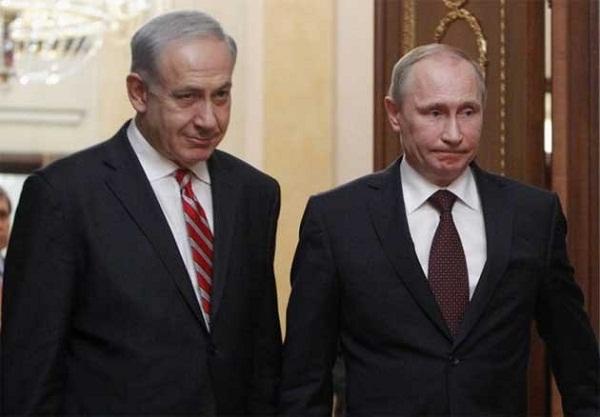 Netanyahu Temui Putin Perihal Pasukan Rusia di Suriah
