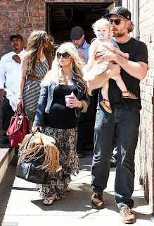 Photo Jessica Simpson Lunch With Family