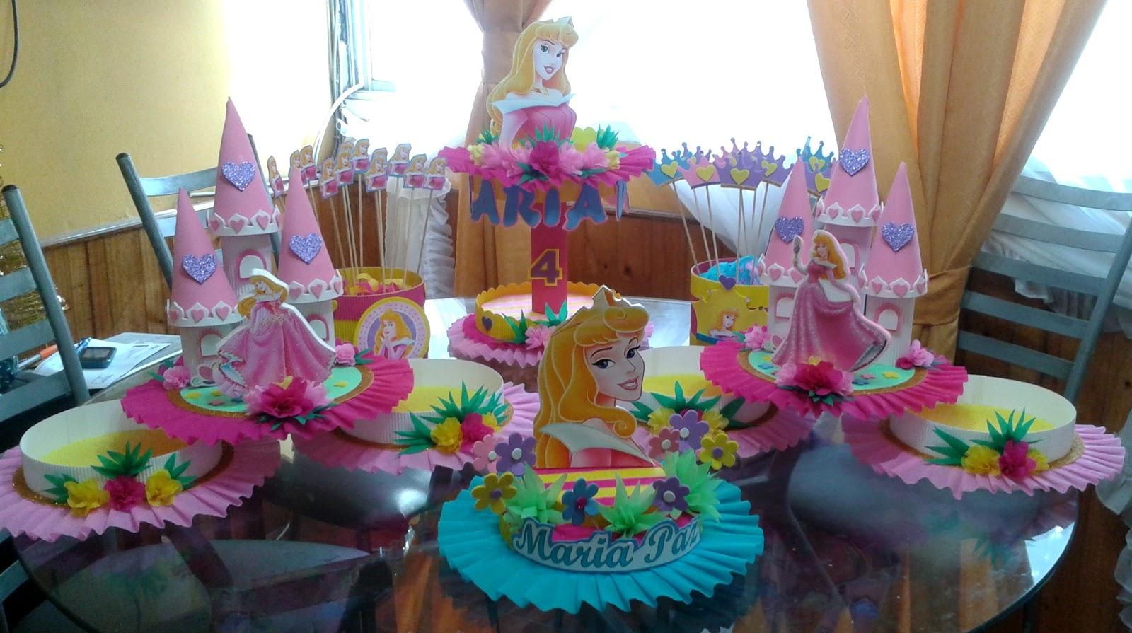 Fiestas Infantiles, Decoración La Bella y La Bestia