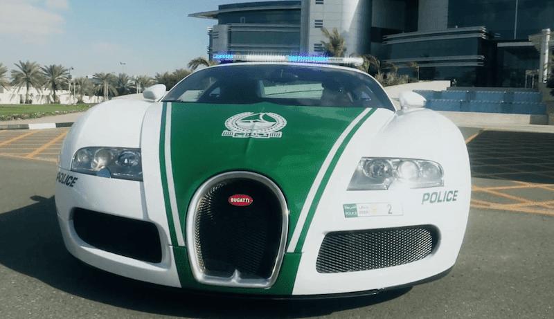ドバイ警察がついに「ブガッティ・ヴェイロン」のパトカーを導入!