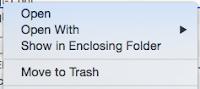 Show in Enclosing Folder