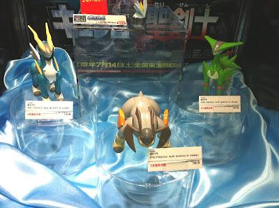 Pokemon Plamo Cobalion Virizion Terrakion Bandai