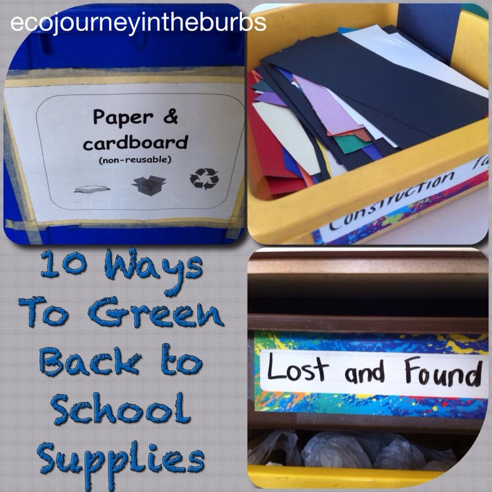 Eco Journey In The Burbs Diy Celery: Eco Journey In The Burbs: Ten Ways To Green School Supplies