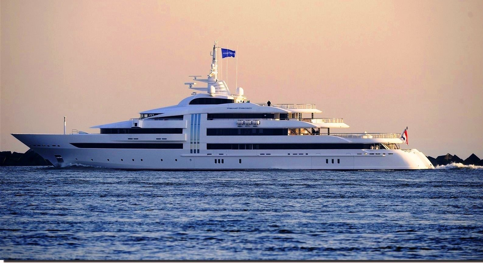Superyacht VIBRANT CURIOSITY Port Side