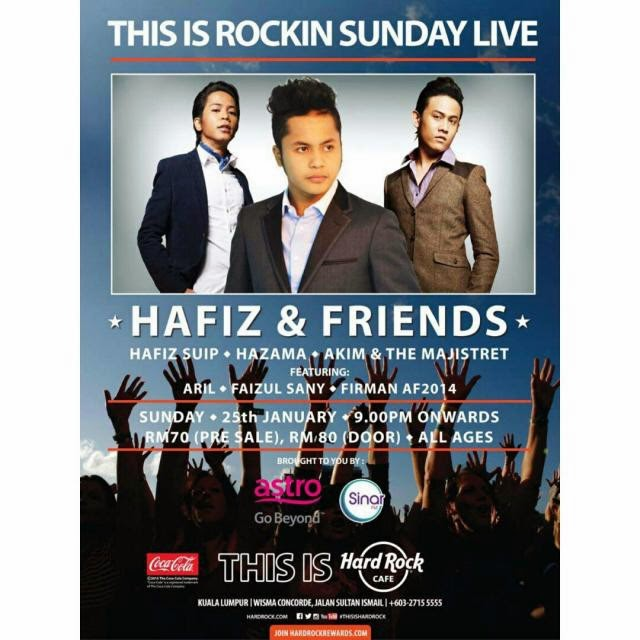 HAFIZ & FRIENDS SHOWCASE