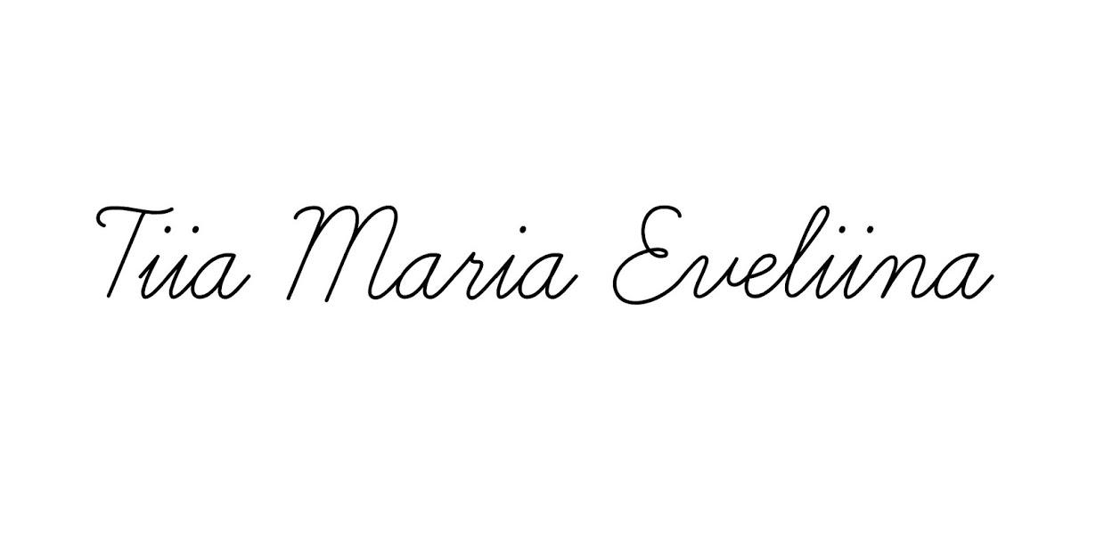 Tiia Maria Eveliina