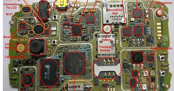 Blackberry Bb9000 Schematic Full Diagram