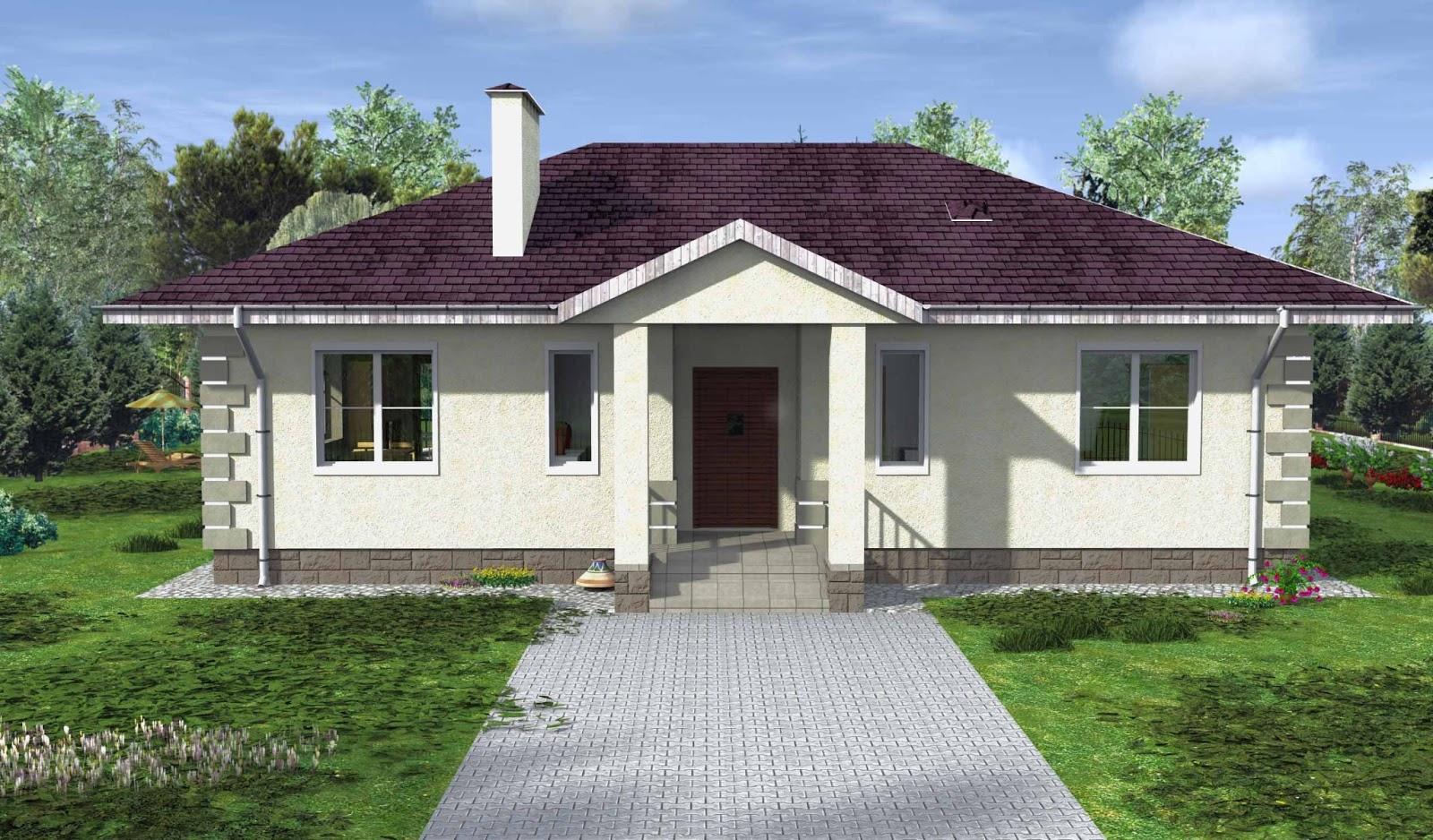 Проекты домов с террасой