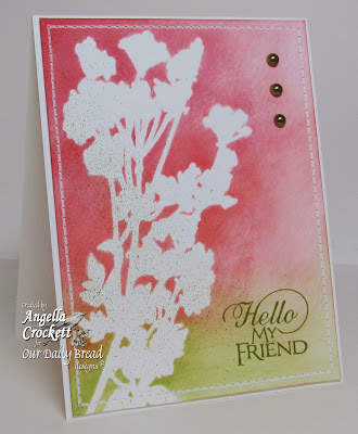 ODBD Sentiment Collection 2, Card Designer Angie Crockett