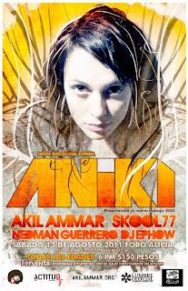 Aniki en Mexico 2011