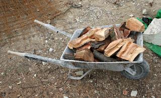 A load of split logs