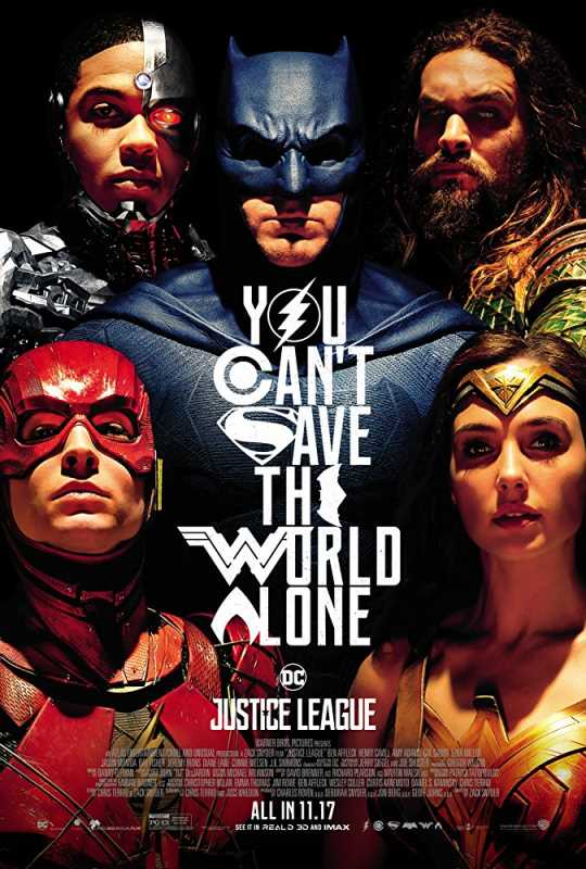 Justice League 2017 1080p x264 Esub BluRay  Dual Audio English Hindi GOPISAHI