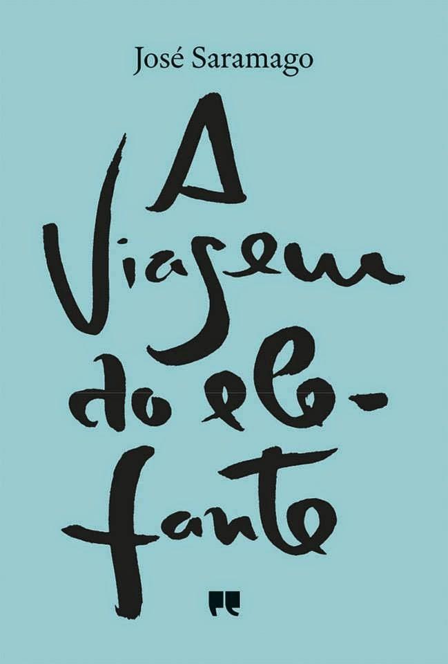 A Viagem do Elefante, José Saramago, Capa Nova, Porto Editora, Mário de Carvalho