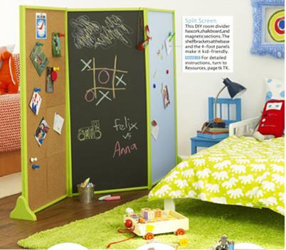 Dormitorio compartido para dos colores en casa for Se puede dividir un piso en dos