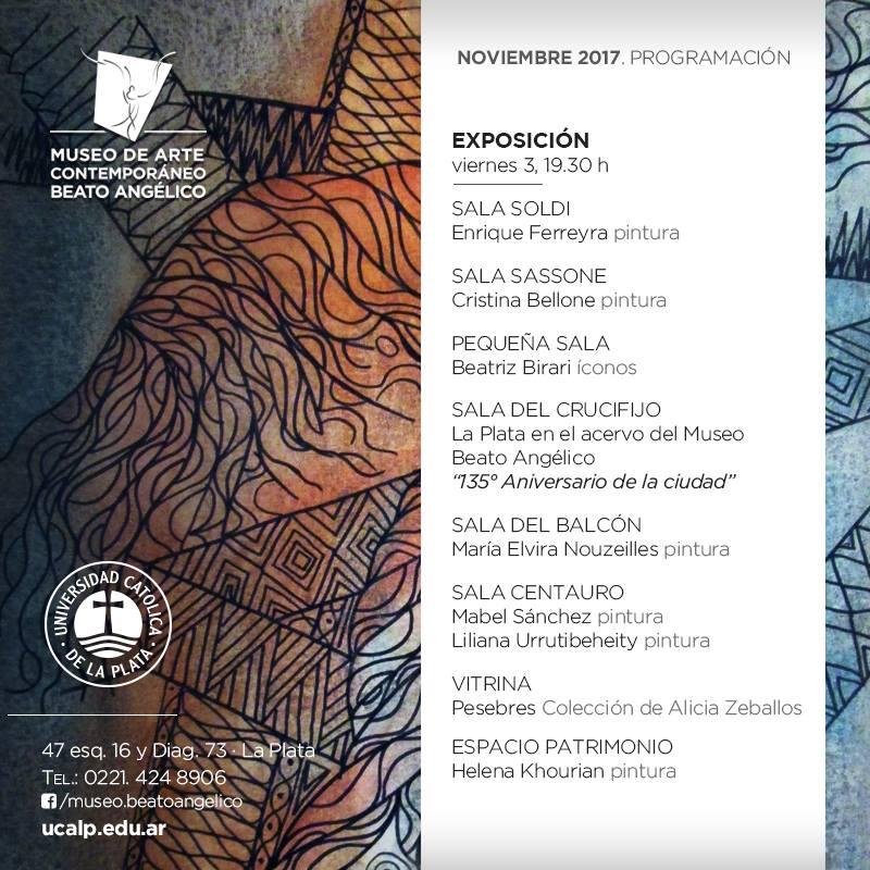 EXPOSICIÓN DEL ARTISTA PLÁSTICO ENRIQUE FERREYRA